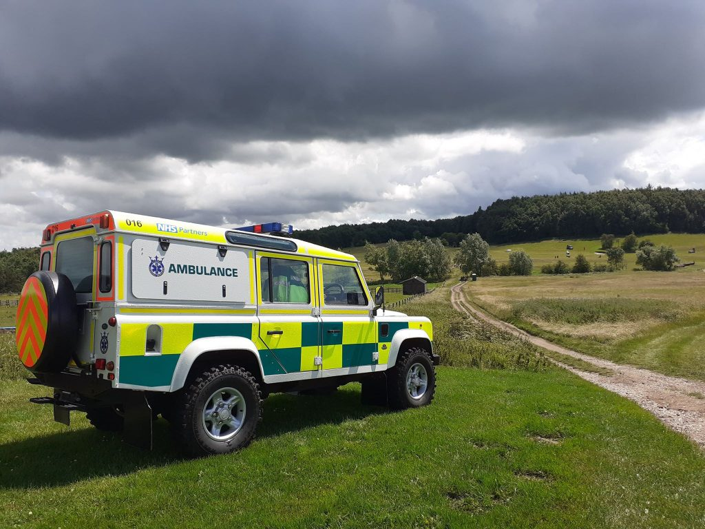 equestrian event medical cover landrover