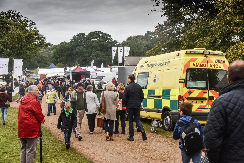 event medical cover with Kings Medical Services ambulance